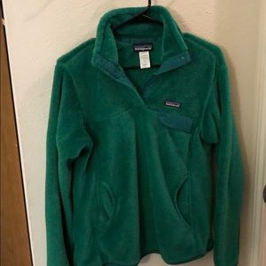 Patagonia Re-tool Snap-T Fleece pullover - Women M